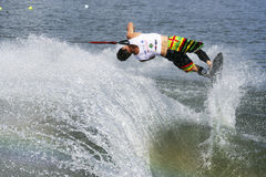 Men's Shortboard Action - Aliaksei Zharnasek Stock Image