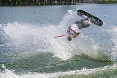 Men's Shortboard Action - Jaret Llewellyn Royalty Free Stock Photos