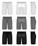 Men's shorts Royalty Free Stock Images