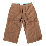 Men's shorts Royalty Free Stock Photography