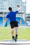Men's shot put Stock Photo