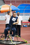 Men's Shot Putt for Disabled Persons Royalty Free Stock Photos