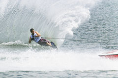Men's Slalom Action - Jean Baptiste Faisy Stock Photo