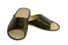 Men's Slippers Stock Photos