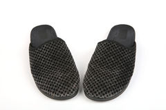 Men's slippers Royalty Free Stock Images