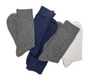 Men's socks Royalty Free Stock Photos