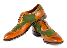 Men's Spectator Style Dress Shoes  Stock Image