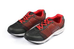 Men`s Sports Shoes Stock Photography