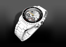 Men's sports watch Stock Images