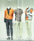Mens sportwear Stock Photo