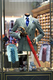 Men`s store display Royalty Free Stock Photo