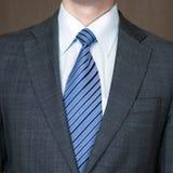 Men's suit. Business men's suit. Jacket, tie and shirt Royalty Free Stock Images