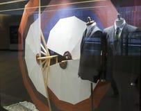 Men's suits showcase Royalty Free Stock Photo