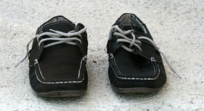 Men's summer shoes Stock Images