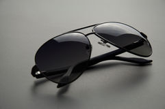 Men's sunglasses with polarized Stock Photography