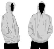 Men's sweatshirt Stock Images