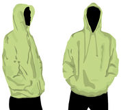 Men's sweatshirt Royalty Free Stock Photography