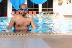 Men's swimming. Stock Image