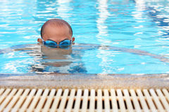 Men's swimming. Stock Photos