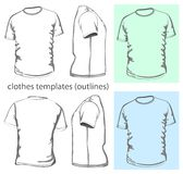 Men's t-shirt Stock Image