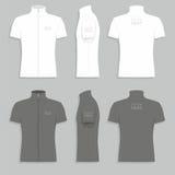 Men`s t-shirt design template Royalty Free Stock Photos