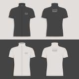 Men`s t-shirt design template Stock Photos