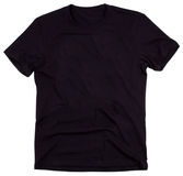Men's t-shirt isolated on white background. Men's t-shirt isolated on a white background. Clipping paths included Royalty Free Stock Photography