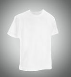 Men's t-shirt template with a cap. Stock Images