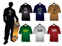Men's t-shirts Royalty Free Stock Images