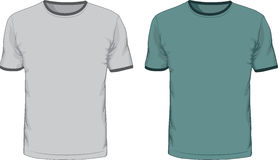 Men's t shirts design template. Vector Stock Photography