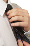 Men's tie Stock Image