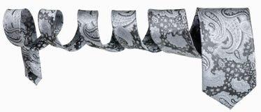 Men's tie in form of spiral Stock Photo
