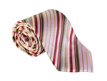 Men's tie with stripes Stock Images