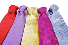 Men's Ties Royalty Free Stock Photos
