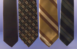 Men's ties Stock Photography