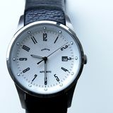 Men's Titanium Watch Royalty Free Stock Photography