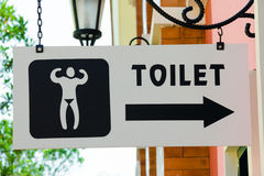 Men's Toilet sign Stock Photo