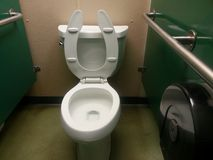 Men's toilet stall Royalty Free Stock Photography