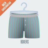 Men's underwear vector illustration stock illustration