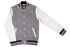 Men's varsity jacket Stock Photography