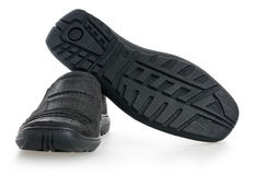 Men's walking shoes nubuck Stock Photography