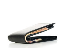 Men's wallet with money Stock Photo