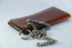Men's wallets Royalty Free Stock Image