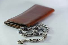 Men's wallets Stock Images