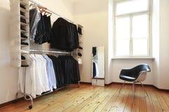 Men's wardrobe Royalty Free Stock Photo