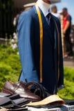 Men's wardrobe Royalty Free Stock Image
