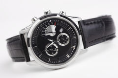Men's watch isolated Royalty Free Stock Image