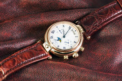 Men's Watches Chronograph Royalty Free Stock Image