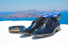 Men's wedding accessories Stock Photography