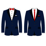 Men`s wedding a jacket. Royalty Free Stock Images